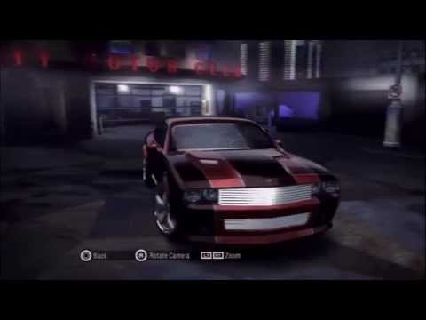 Need for Speed Carbon: My Cars Video