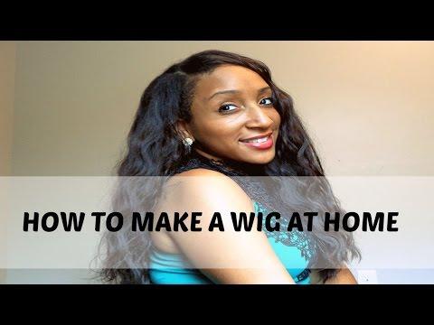 HOW TO MAKE A WIG | EASIEST DIY U-PART TUTORIAL EVER!