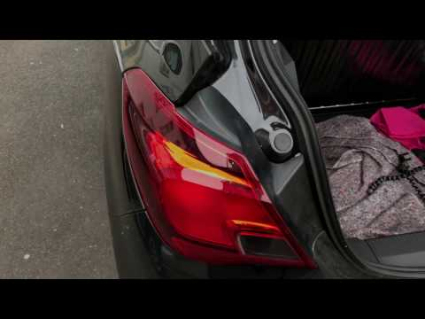 How to replace back light unit tail light replacement tail lamps changing Vauxhall Corsa DIY