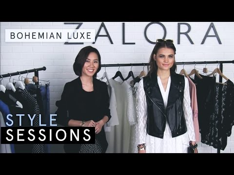 How to Wear the Bohemian Luxe | ZALORA Womenswear | Style Sessions Tutorial