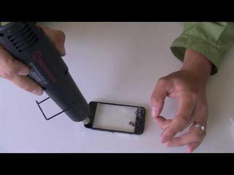 How To Fix an iPhone 3G / 3GS Broken Screen Glass DIY