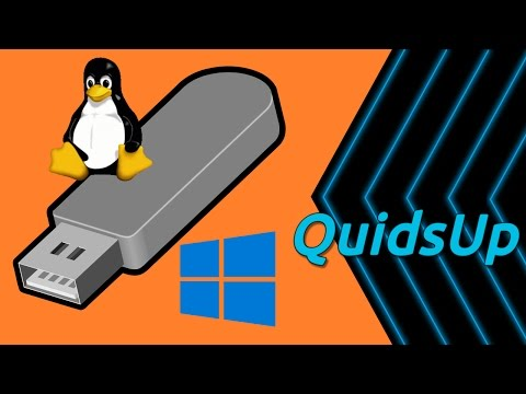 How to Create a Bootable Linux USB Drive From Windows 10