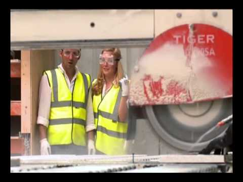 GlassEco - Recycled Glass Worktop Manufacturing Process