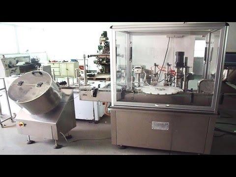E-liquid filling stopper capping machine rotary filler capper remplissage machine de capsulage
