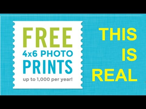 Get FREE PRINTS with this app