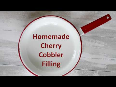 How To Make Old Fashioned Cherry Cobbler