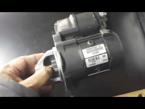 Smart Fortwo 450 Starter motor replacement and lowering the Engine Part 6