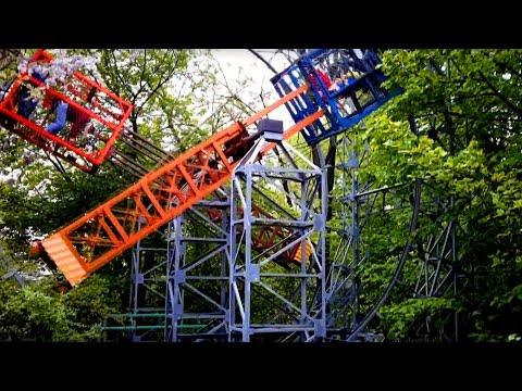 Homemade Human Powered Amusement Park