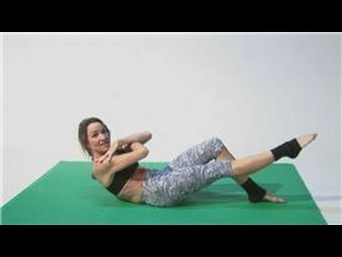 Pilates Techniques : Exercises for Weak Abdominal Muscles