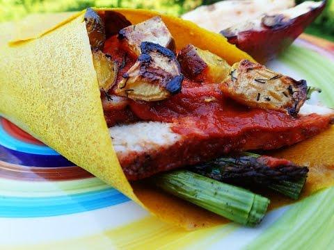 Well Fed BBQ Pork & Veggie Paleo Wrap (Keto & Gluten Free)