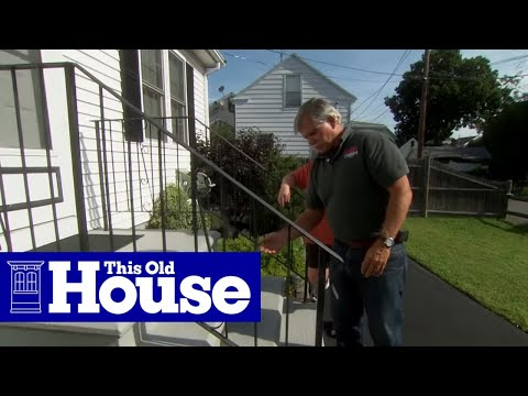 How to Repair a Rusted Wrought Iron Railing - This Old House