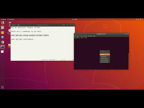How to uninstall Google Chrome from Ubuntu
