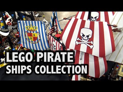 Every LEGO Pirate Ship Ever Made!