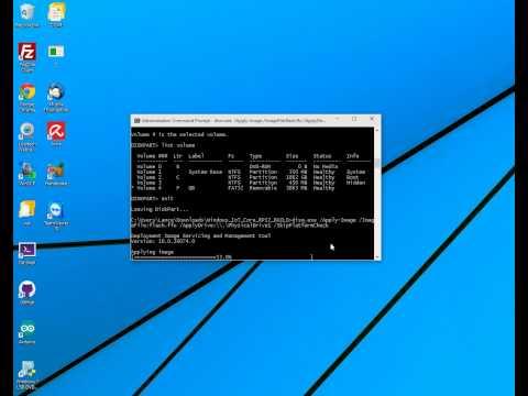HOWTO Put Windows 10 IoT Raspberry Pi Image/OS to MicroSD