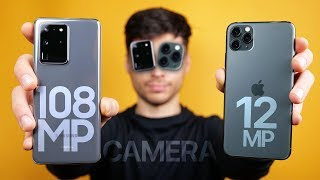 Galaxy S20 Ultra vs iPhone 11 Pro Max Camera Test Comparison