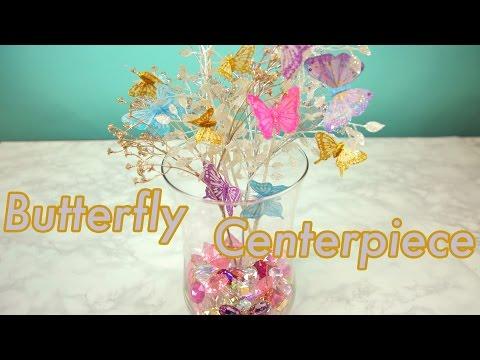Glam Butterfly Centerpiece