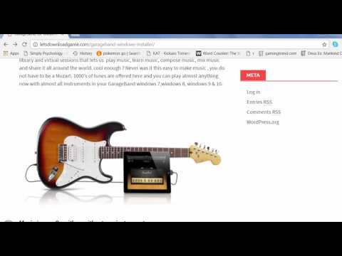 GarageBand Windows pc  download 2017