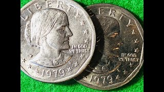 1980, 1981, 1999 Susan b Anthony (Lower Mintage)