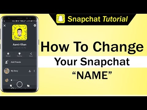 How To Change Your Snapchat Name