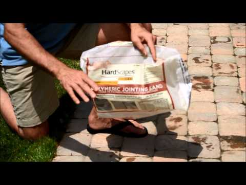 Polymeric Jointing Sand for Paver Walkway Installation Video