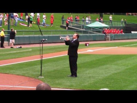 Mark Zauss National Anthem, high note trumpet, double c