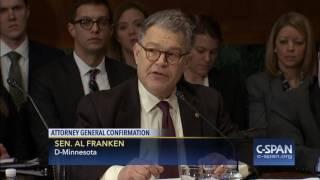 Sen. Al Franken full statement on Attorney General Nominee Sen. Jeff Sessions (C-SPAN)