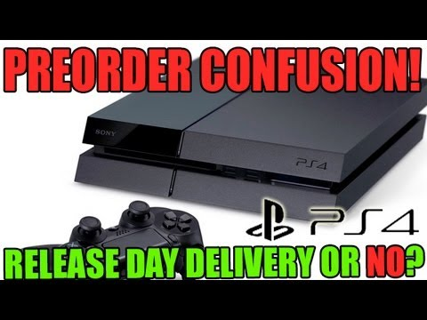 Getting A PS4 On Release Day? Think Again. PS4 PreOrder Confusion!