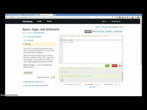 Codecademy Walkthrough- Python (6)