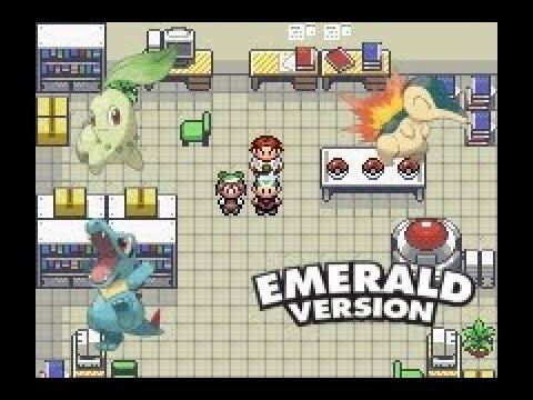 How to get Johto starters in Pokemon Emerald