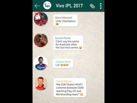 IPL 2017 funny whatsapp chat| IPL 2017 | GoogleBoy