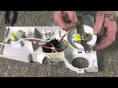 Whirlpool Refrigerator Repair – How to replace the Thermostat Control