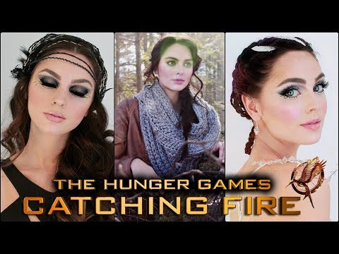 KATNISS EVERDEEN Prom Hairstyles | The Hunger Games Braids