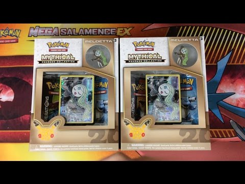 Pokemon Cards - Meloetta Mythical Collection 20th Anniversary Box! (EPIC FINALE!)