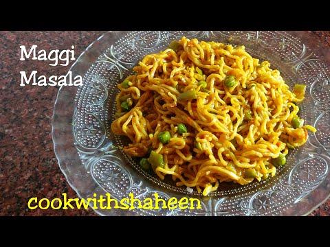 Maggi Masala Recipe | How To Make Maggi Noodles | Veg Maggi Masala