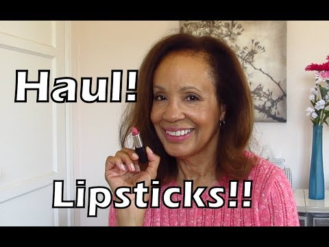 Red Apple Haul: Beautiful New Lipsticks! Vegan, Non-toxic, Gluten & Allergen Free.