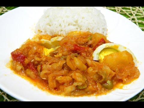 Bacalao ala Vizcaina or Basque style Cod Fish Stew