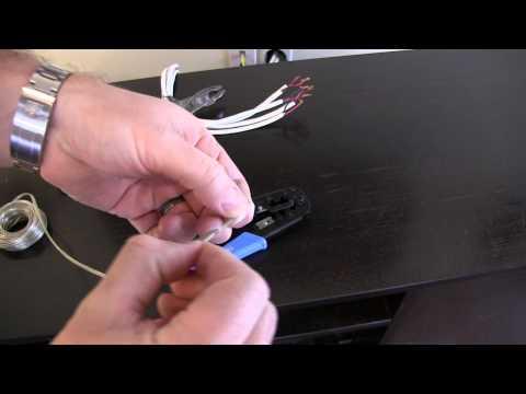 How to Strip Speaker Wire