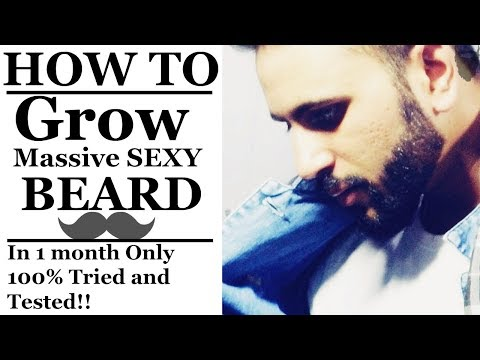 How To Grow Beard Faster & Get Rid Of Patchy Beard | Mens trends