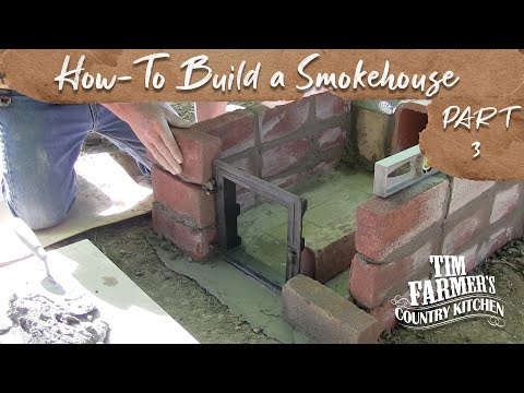 How-To Build a Smokehouse (Part 3 - Fire Box)