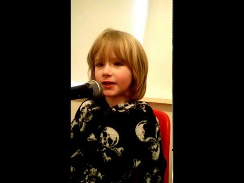 My 4 yr old autistic son won't talk but he will sing Youth by Foxes!!