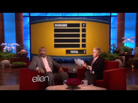Web Exclusive: Steve Harvey Plays 'Family Feud'