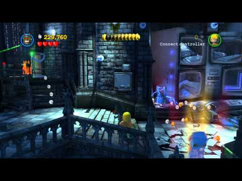 LEGO Batman 2 DC Super Heroes 100% Guide - Asylum Assignment (All Minikits, Citizen in Peril)