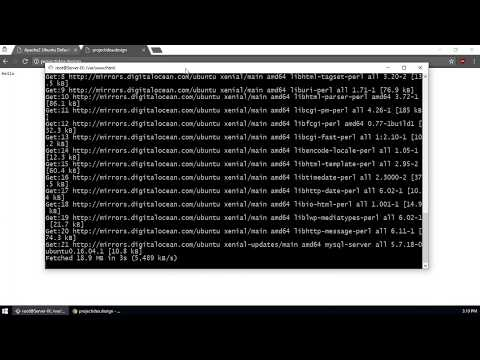 Operating System Project - Web Server with Apache2 (LAMP)   Bangla Tutorial