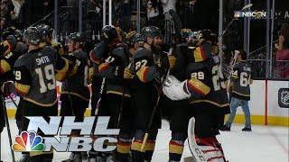 Vegas Golden Knights one win away from Stanley Cup Final I NHL I NBC Sports