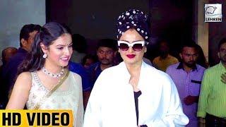 Rekha And  Divya Khosla At BULBUL Short Film Special Screening | LehrenTV
