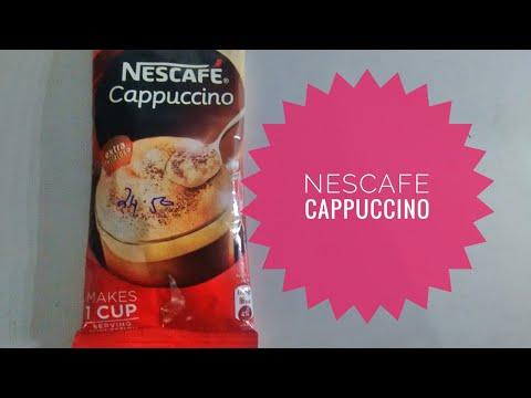 Nescafe cappuccino - how to make nescafe cappuccino