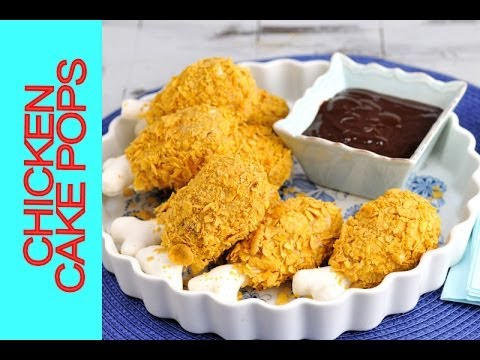 HOW TO MAKE FRIED CHICKEN CAKE POPS, APRIL'S FOOLS DAY