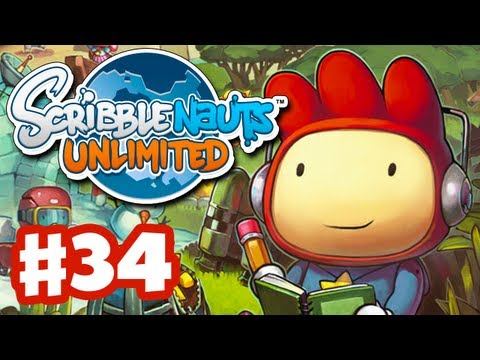 Scribblenauts Unlimited - Gameplay Walkthrough Part 34 - Dot the Island (PC, Wii U, 3DS)