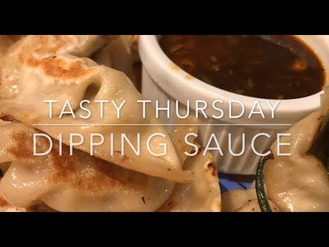 How to make dipping sauce for dumplings - a Tasty Thursday video