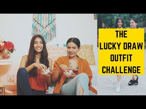 THE LUCKY DRAW OUTFIT CHALLENGE Ft. Komal Pandey | Dolly Singh